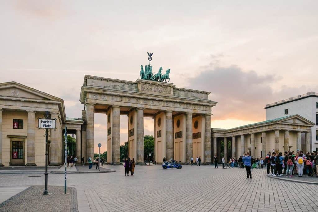 Guided tour in Berlin