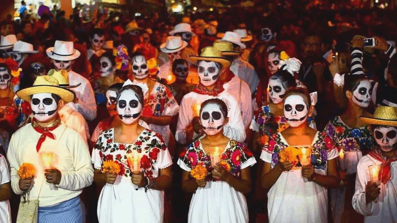 Celebrating the Day of the Dead in Merida Tour
