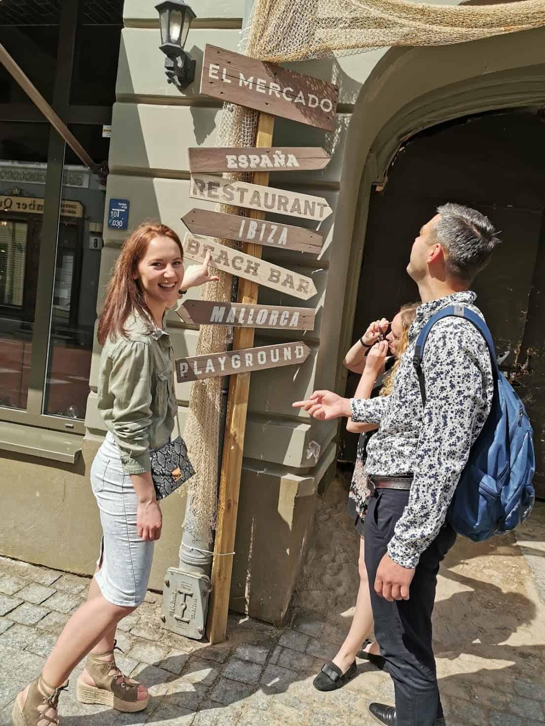 guide tour in vilnius