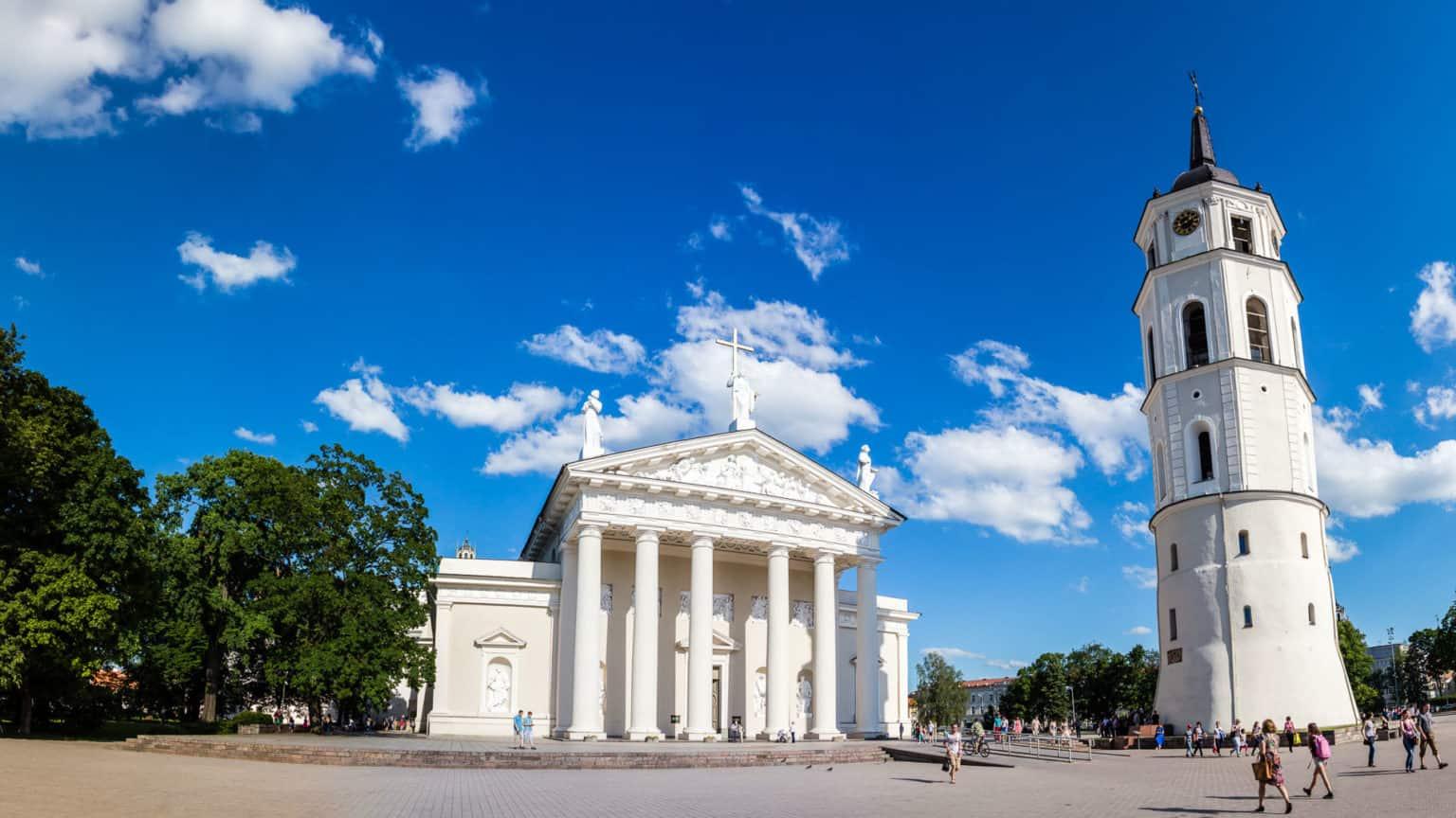 Pope tour in Vilnius
