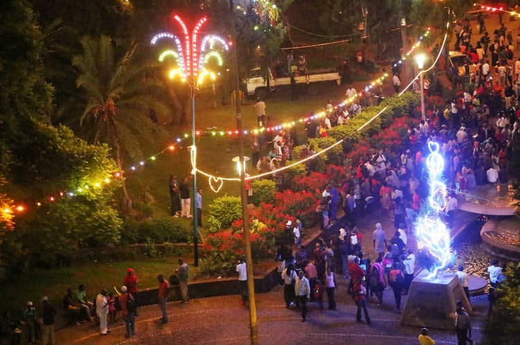Magic Christmas Tour in Victoria Falls