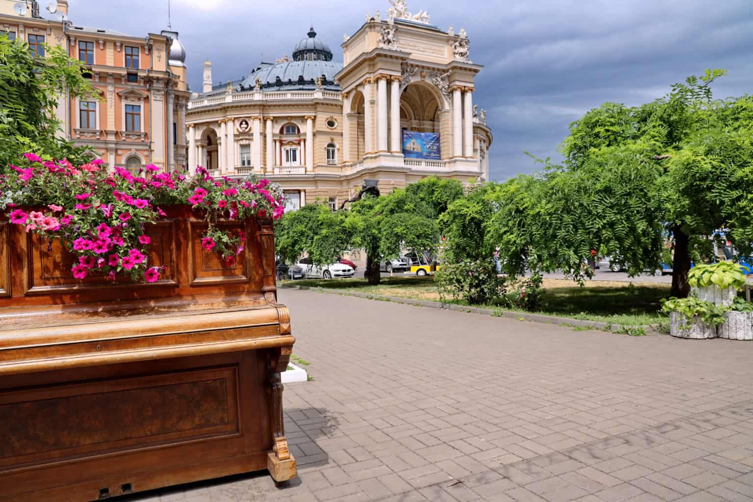 Odessa and cinematography Walking tour 8