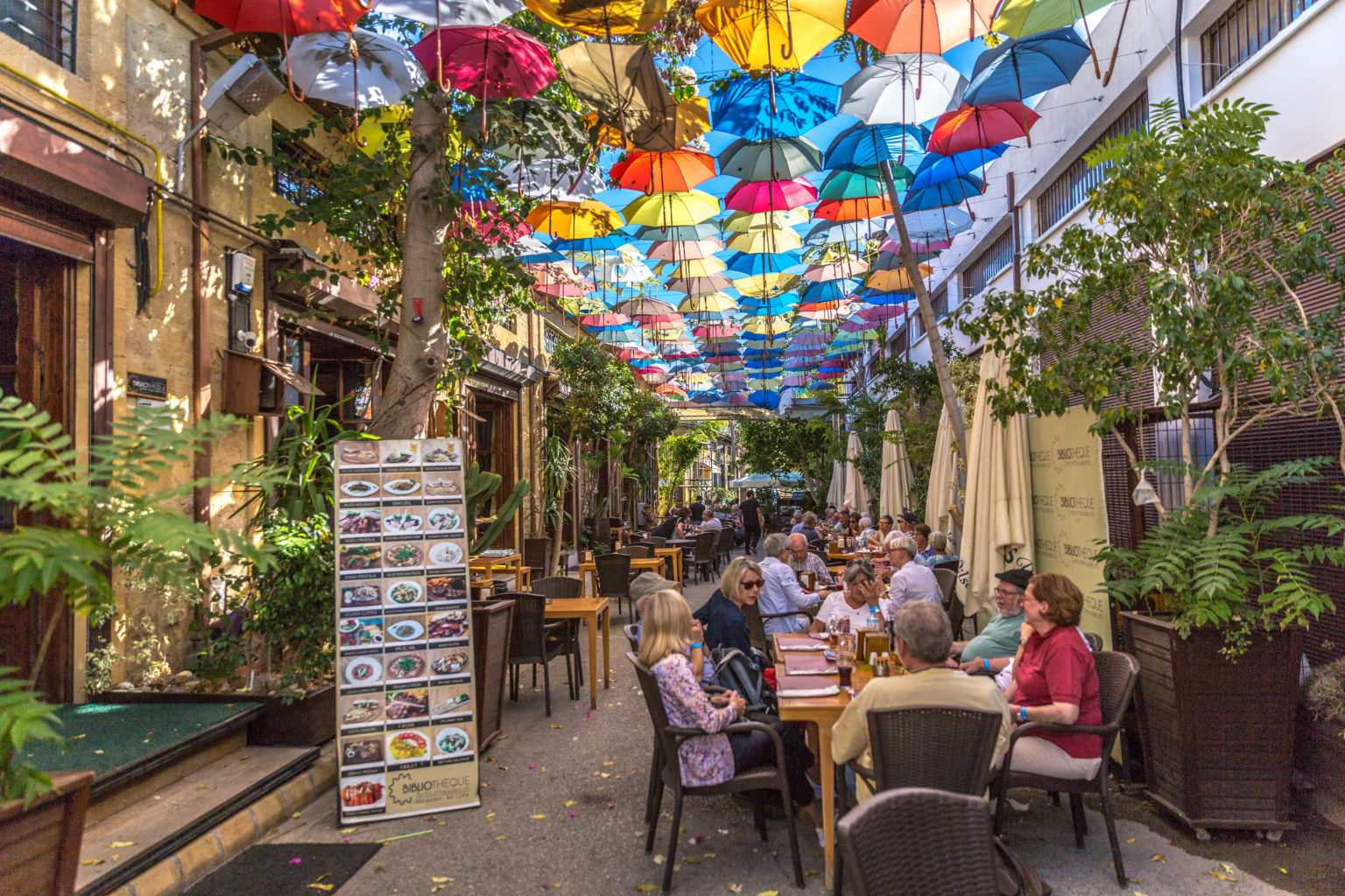 """Walking tour """"Face of the Old and the New Nicosia"""" 7"""
