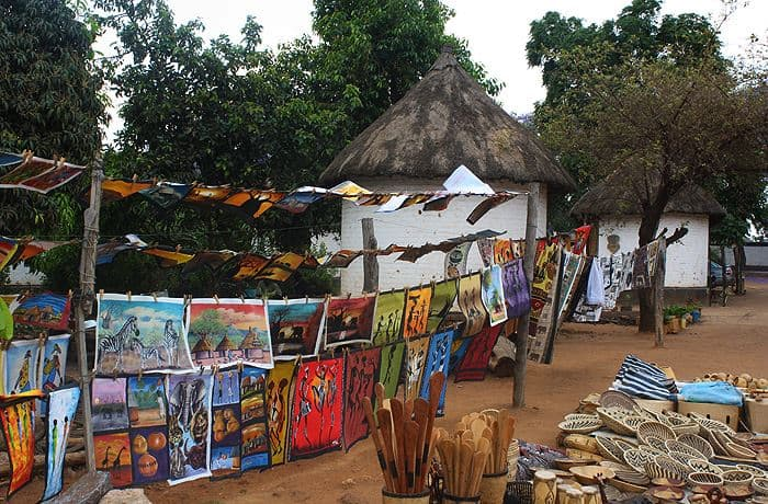 Shopping and Art Tour in Lusaka City, Zambia