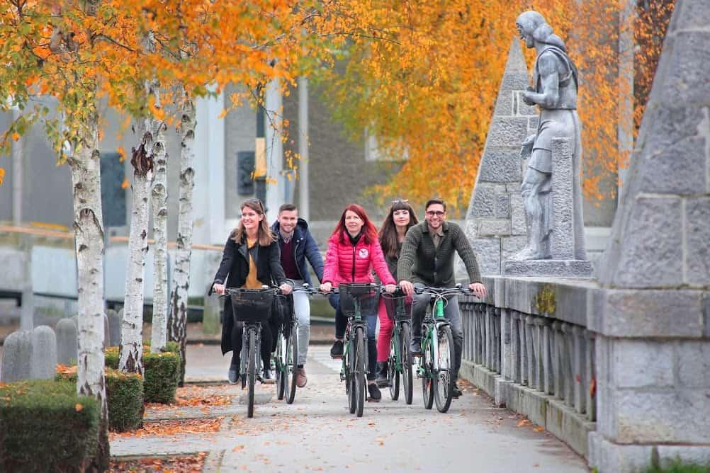 Historical Ljubljana City walking Tour