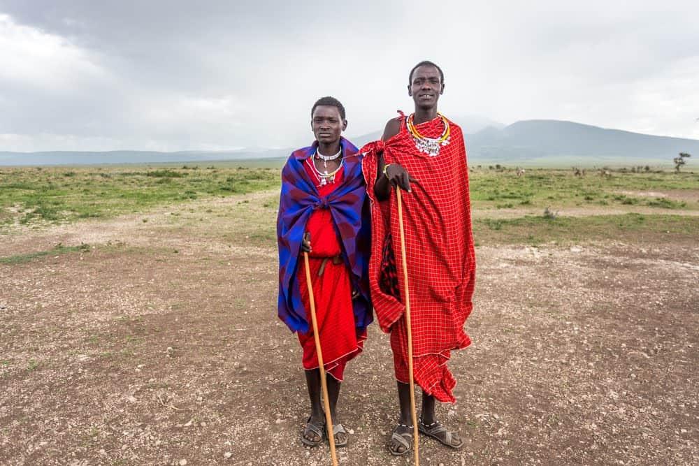 Magic Christmas Tour in Maasai Village, Moshi