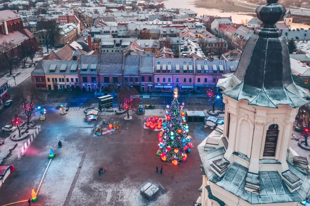 Kaunas Christmas tour