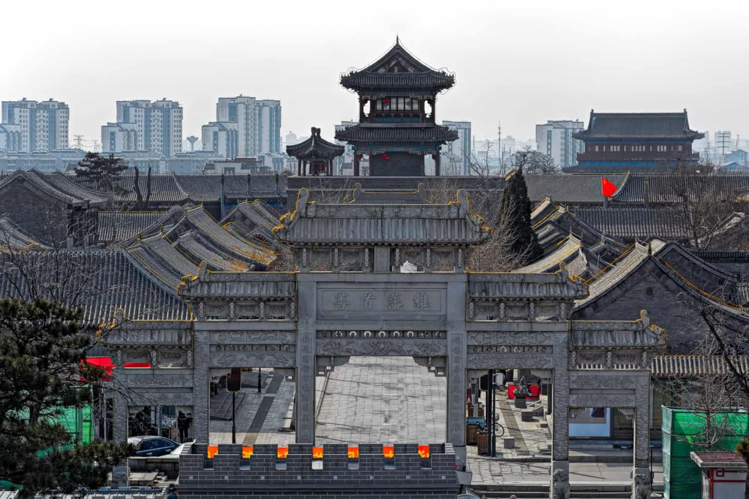 Walking Tour in Qinhuangdao