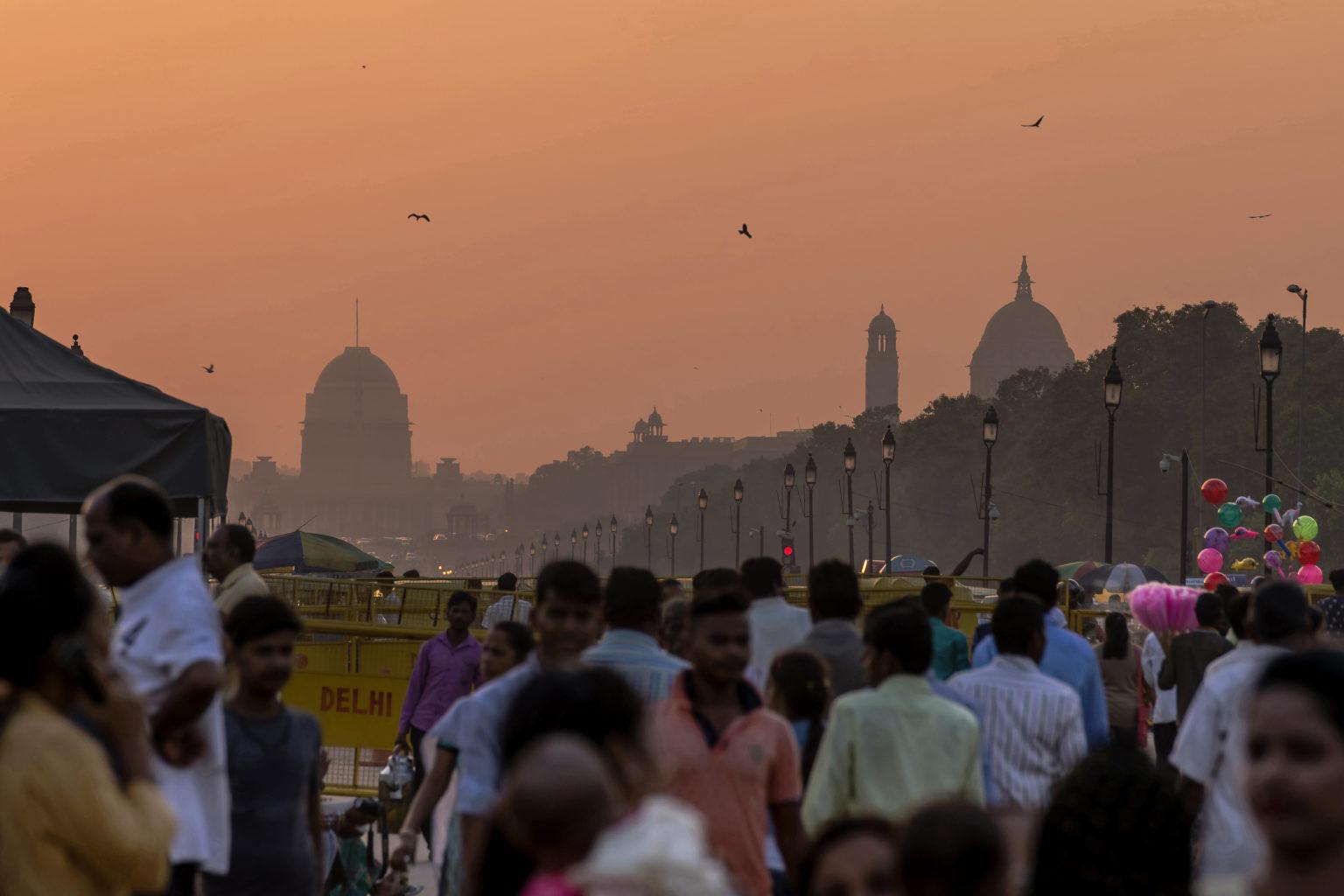 Walking tour in Delhi