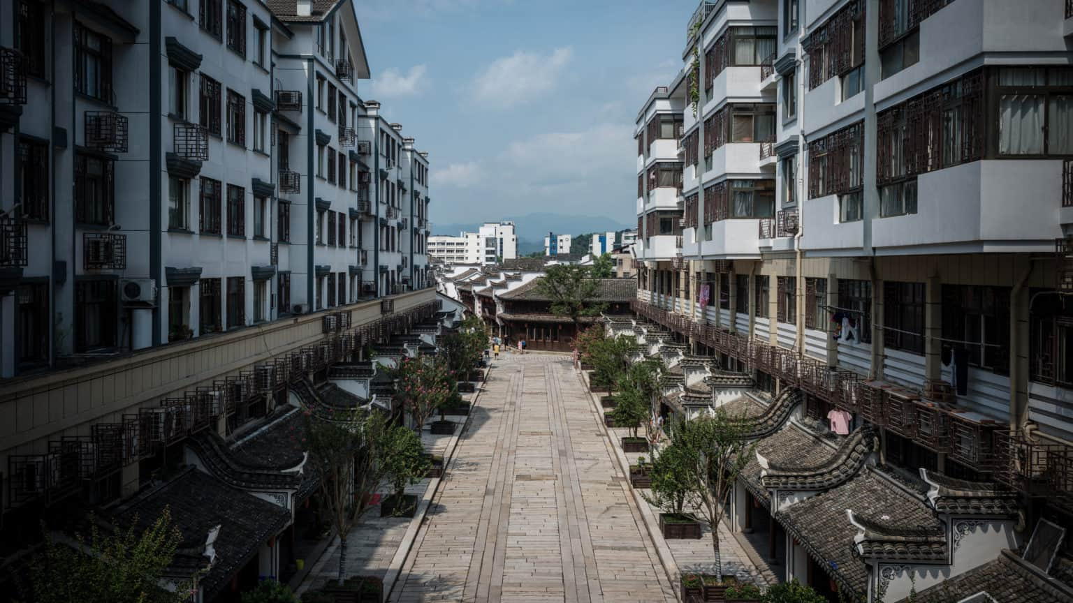 Walking Tour in Yiwu