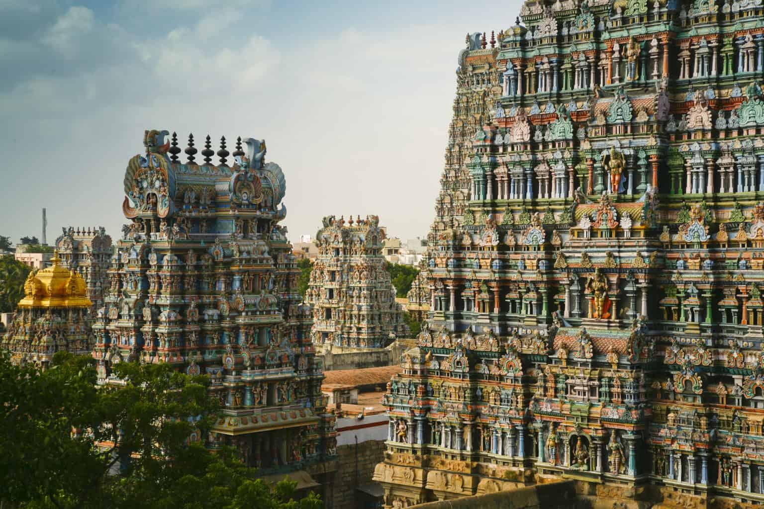Walking tour in Madurai