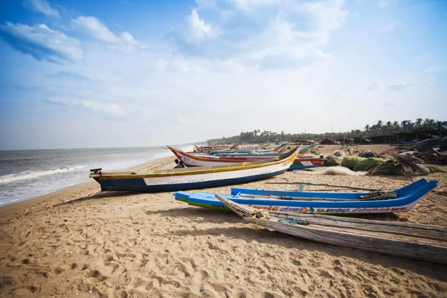 Walking tour in Pondicherry
