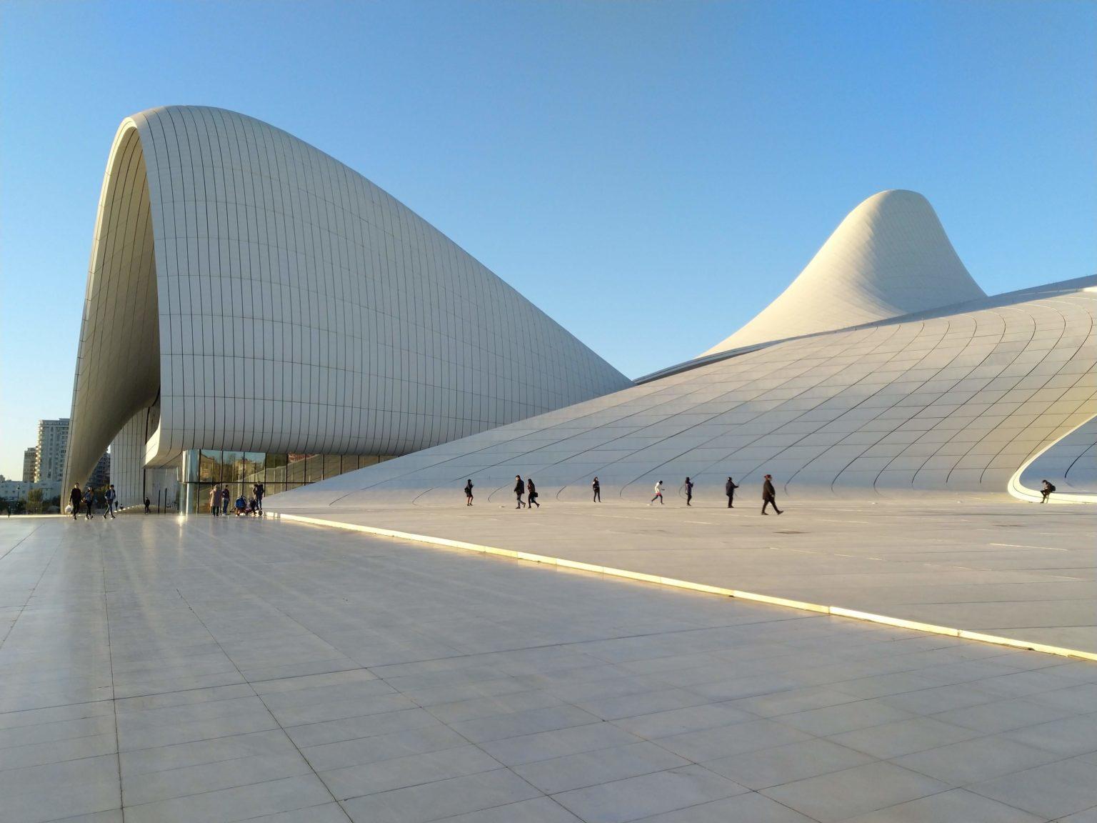 Baku walking tour
