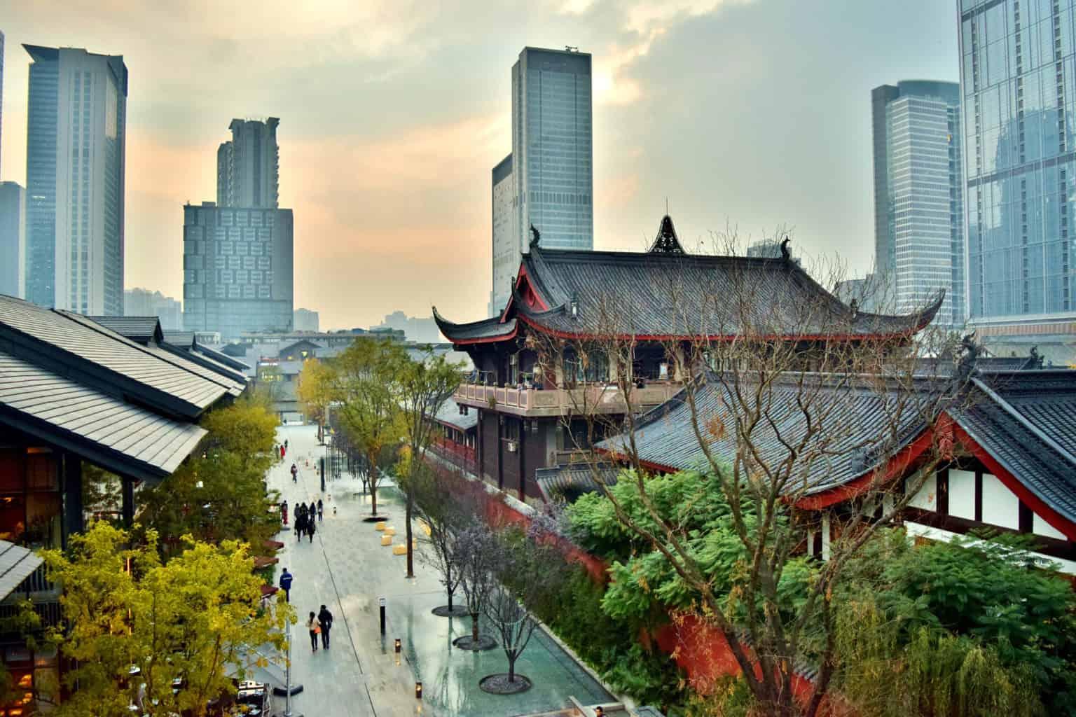 Walking Tour in Chengdu