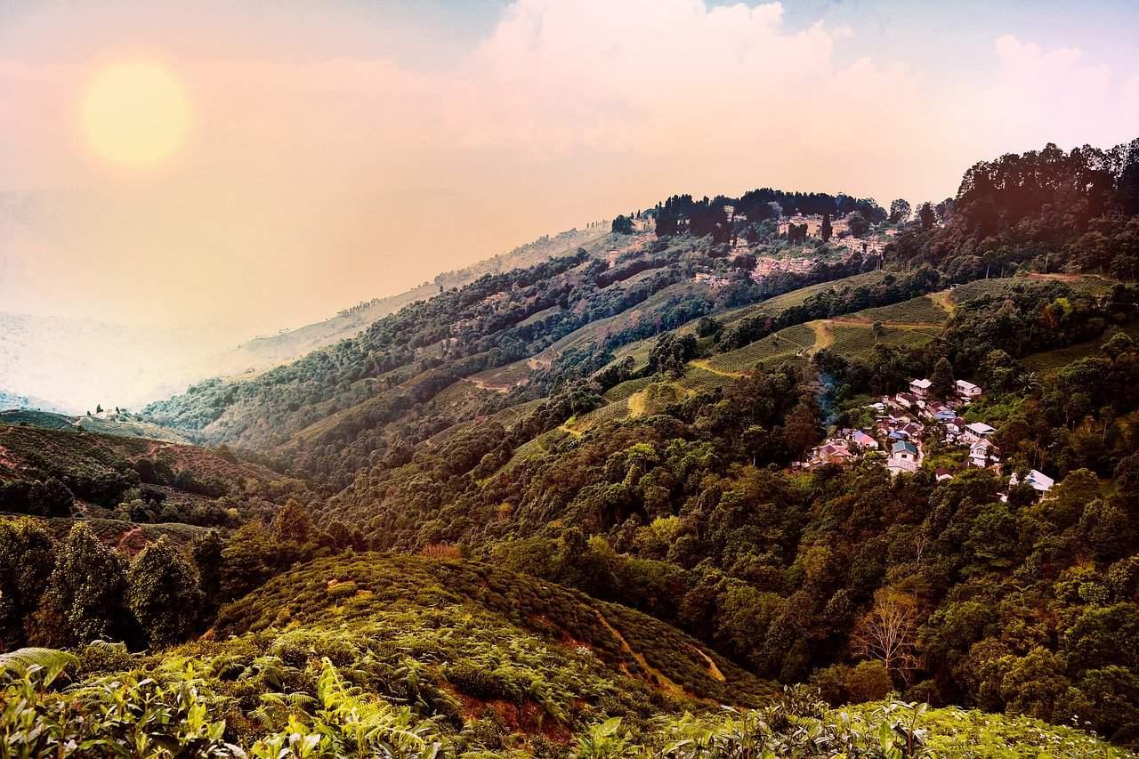 Walking tour in Darjeeling