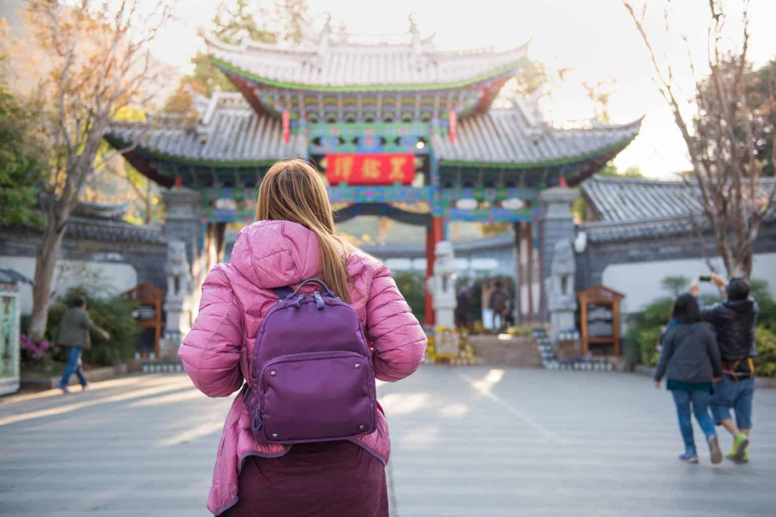 Walking Tour in Fushun