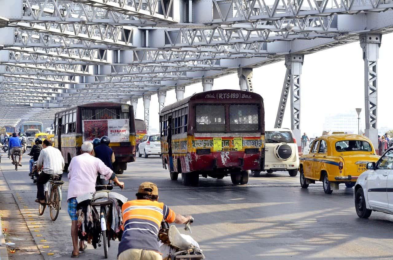Walking tour in Kolkata