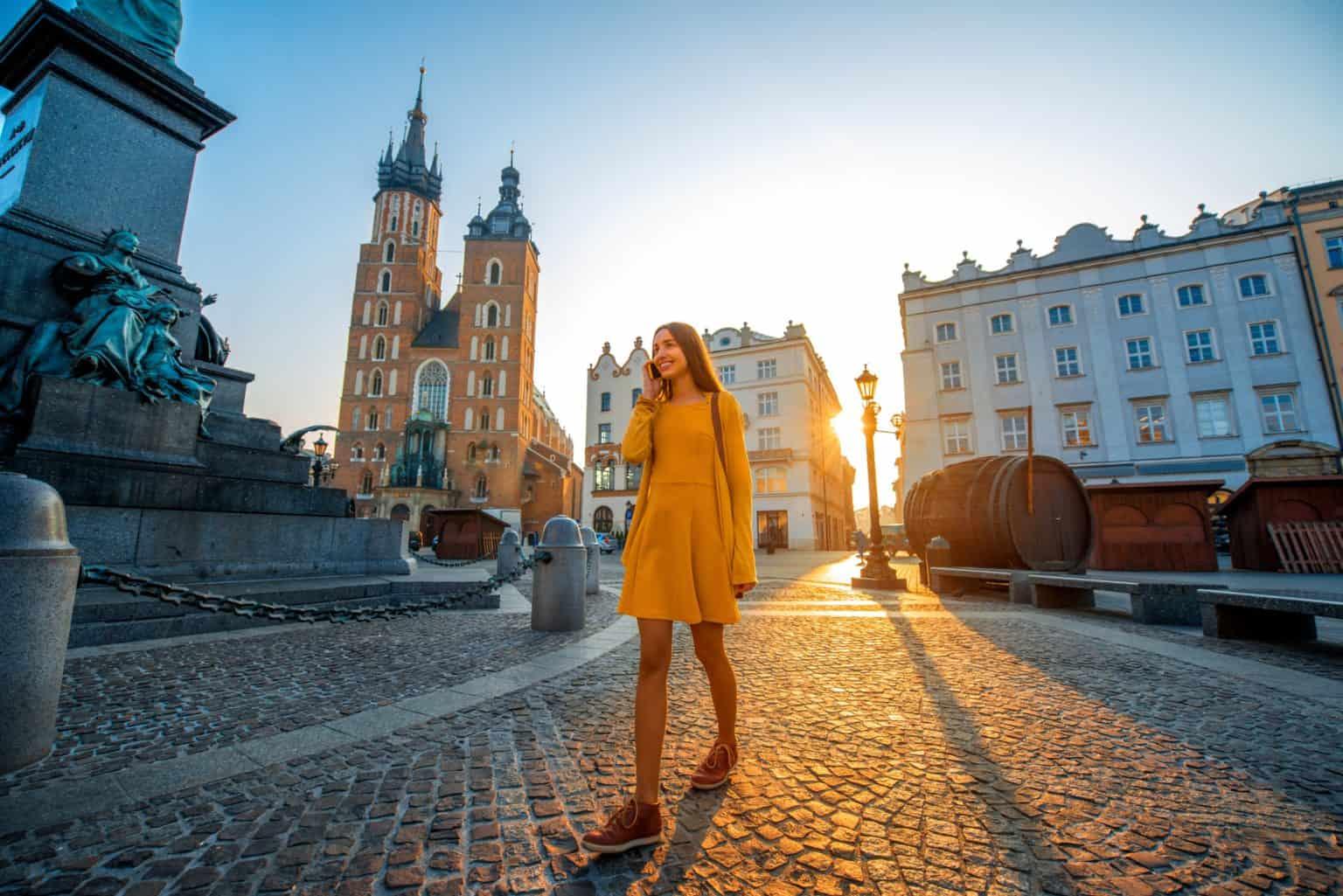 Walking tour in Poland Krakow
