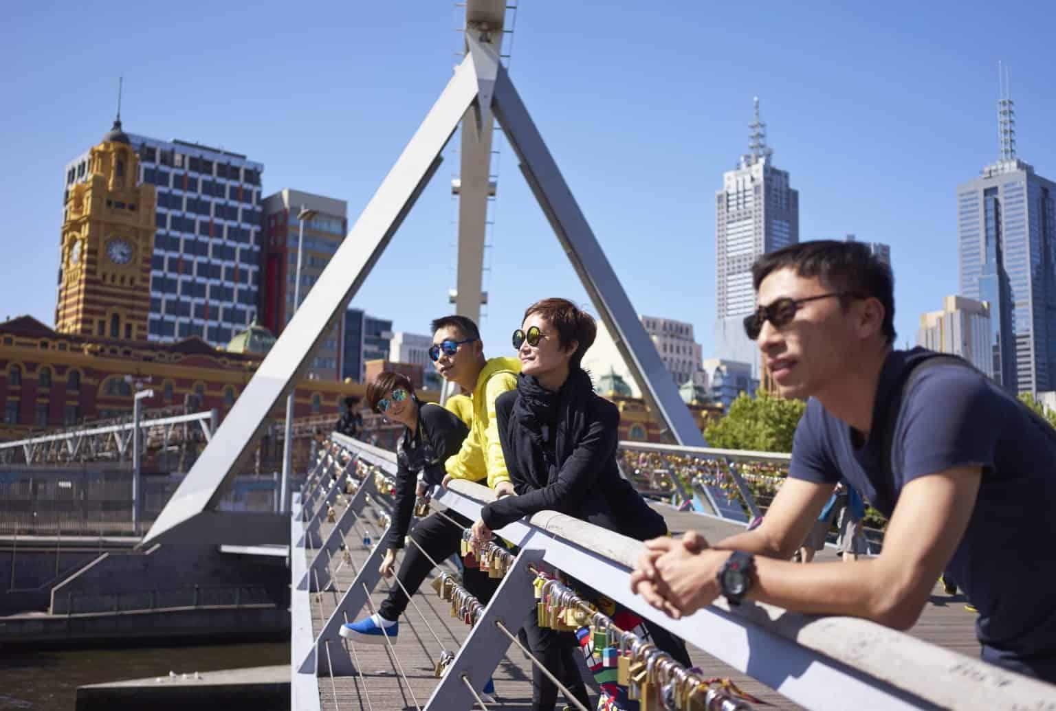 Melbourne walking tour