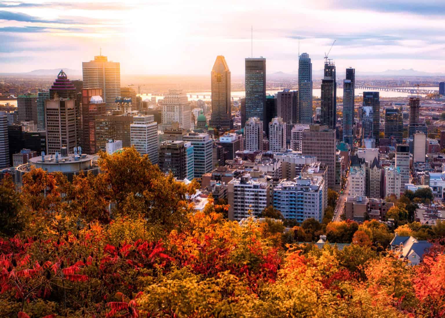 Walking tour in Montreal