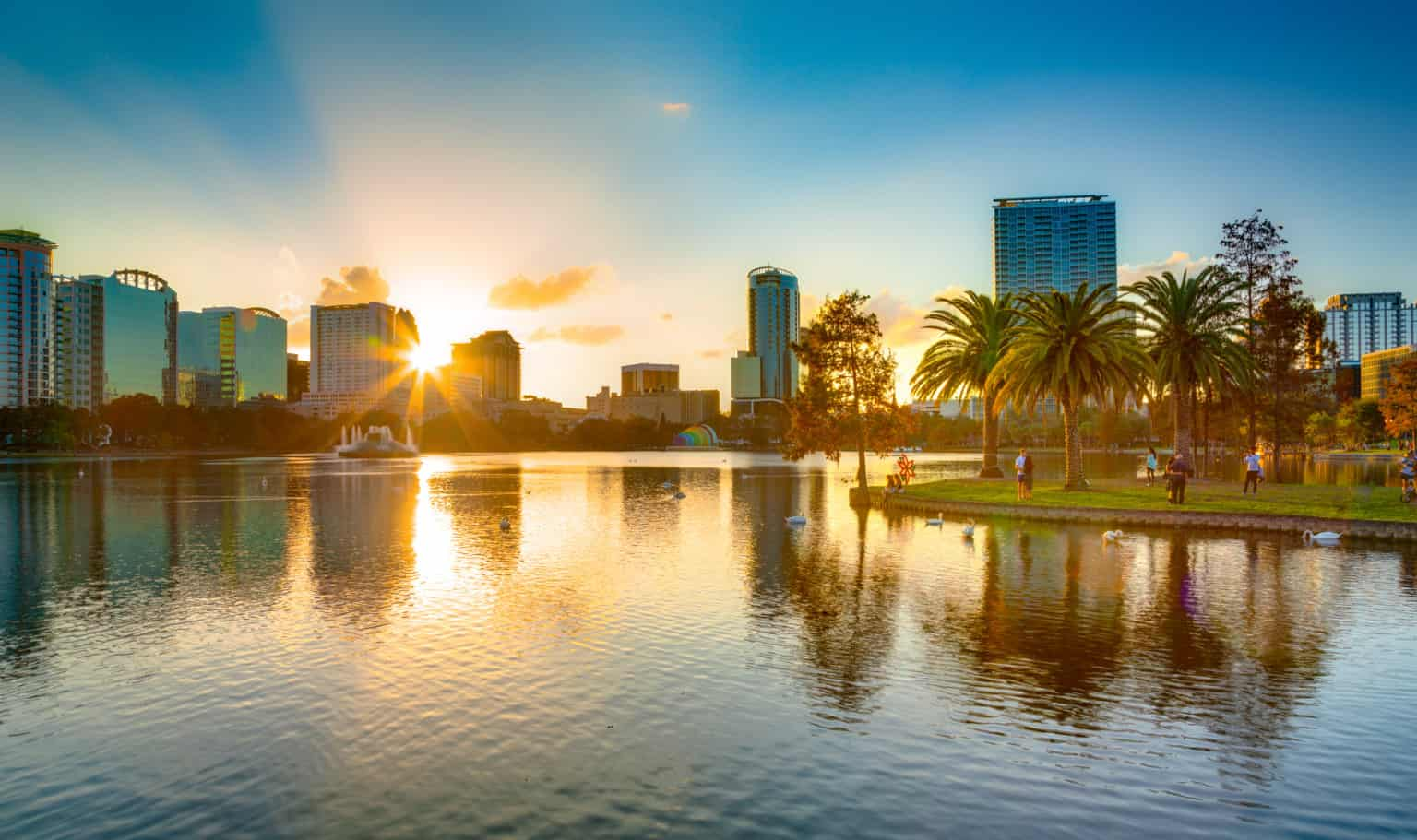 Orlando walking tour