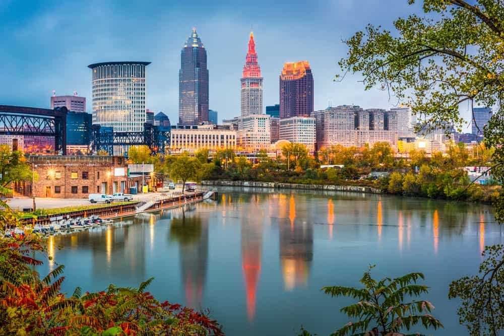 Walking Tour in Cleveland