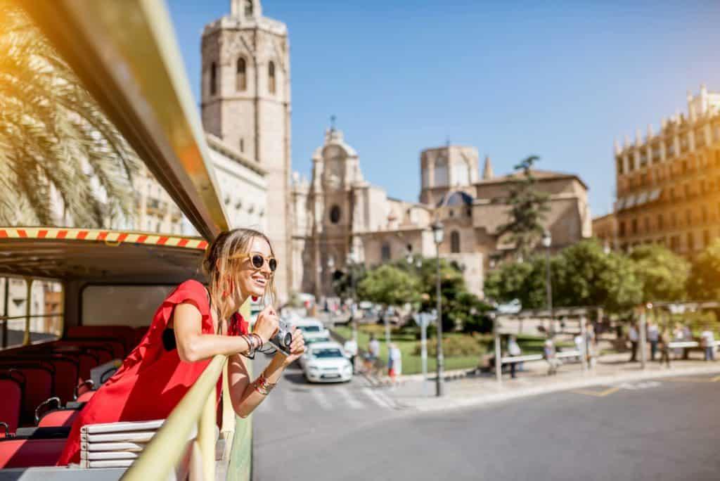 Walking tour in Valencia