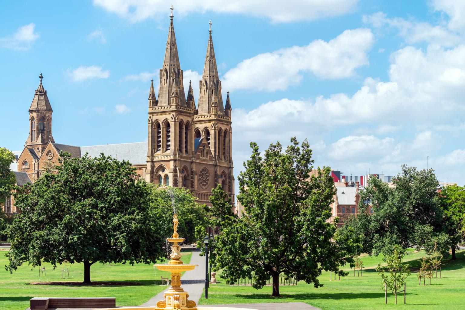 Walking tour in Adelaide