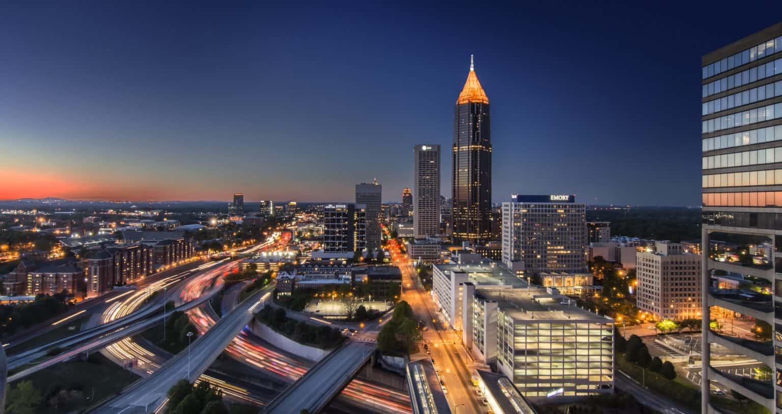 Walking tour in Atlanta