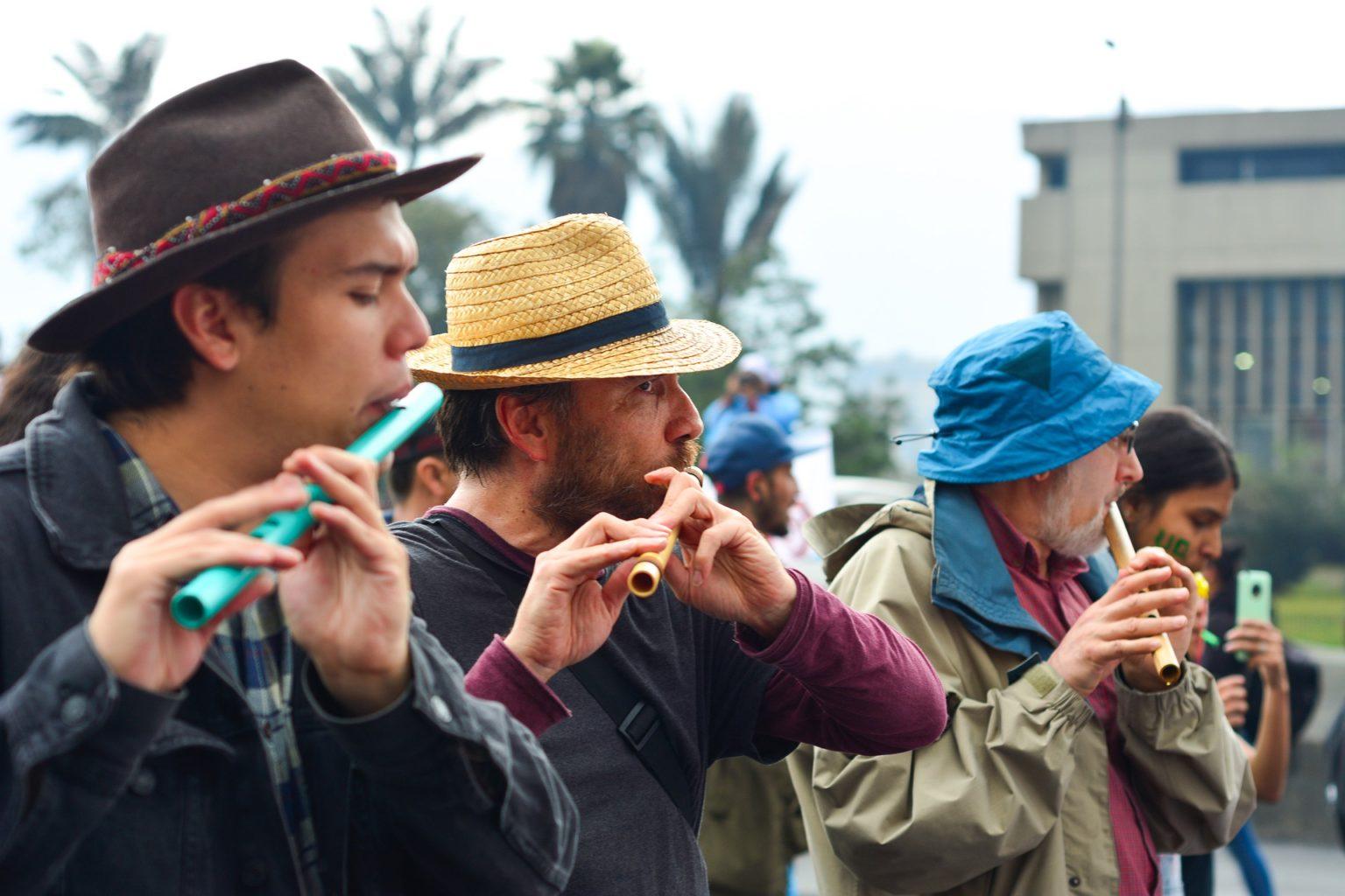 Walking tour in Bogota