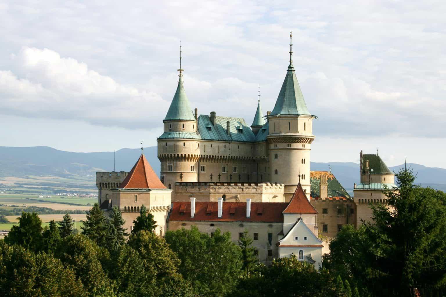Walking tour in Bojnice