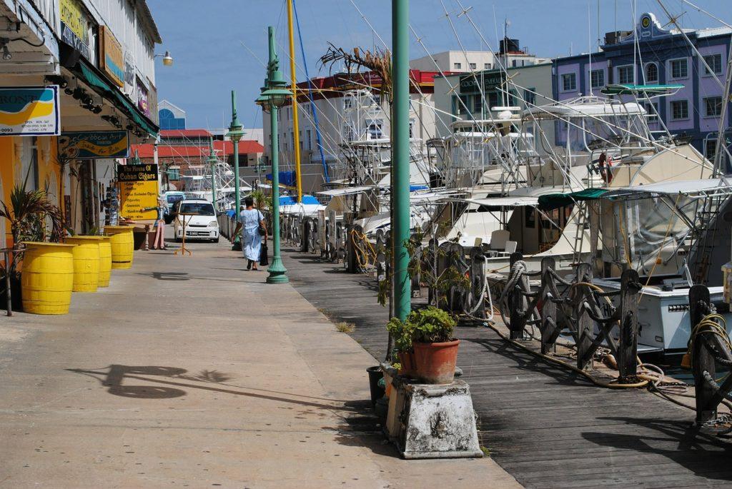 Walking tour in Bridgetown