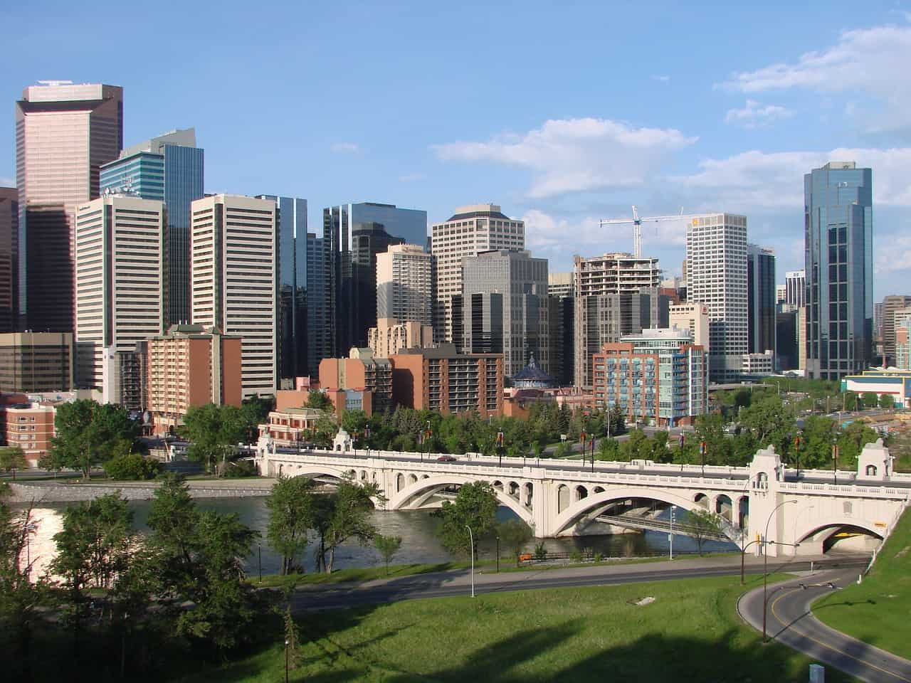 Walking tour in Calgary