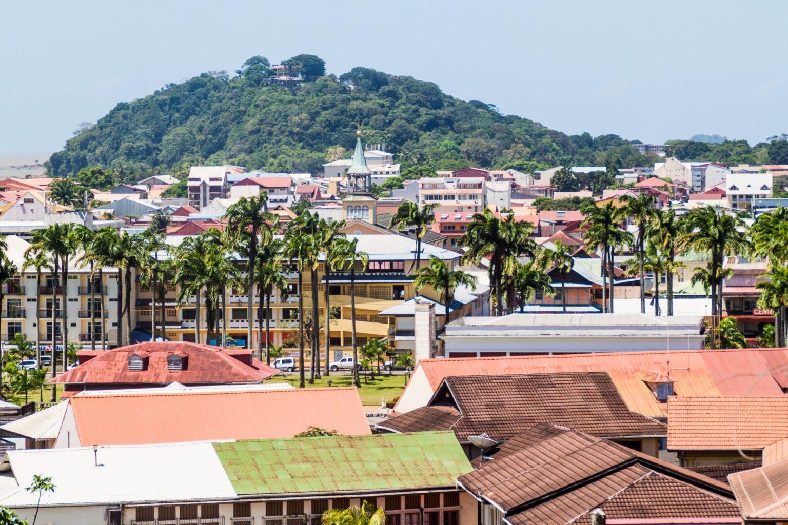Walking tour in Cayenne