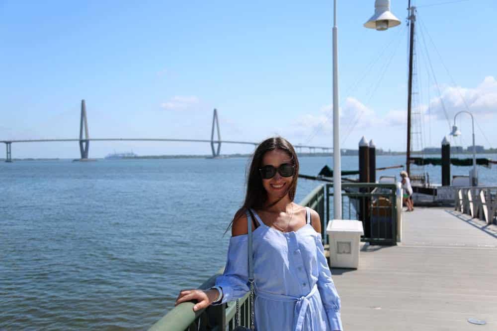 Walking tour in Charleston