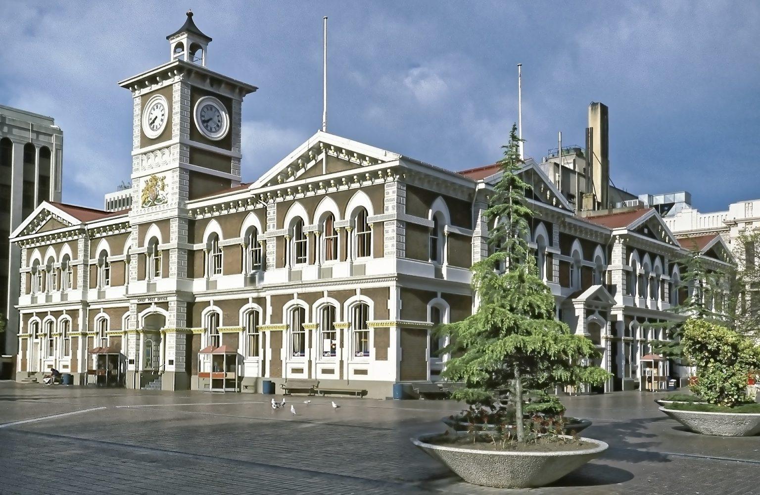 Walking tour in Christchurch
