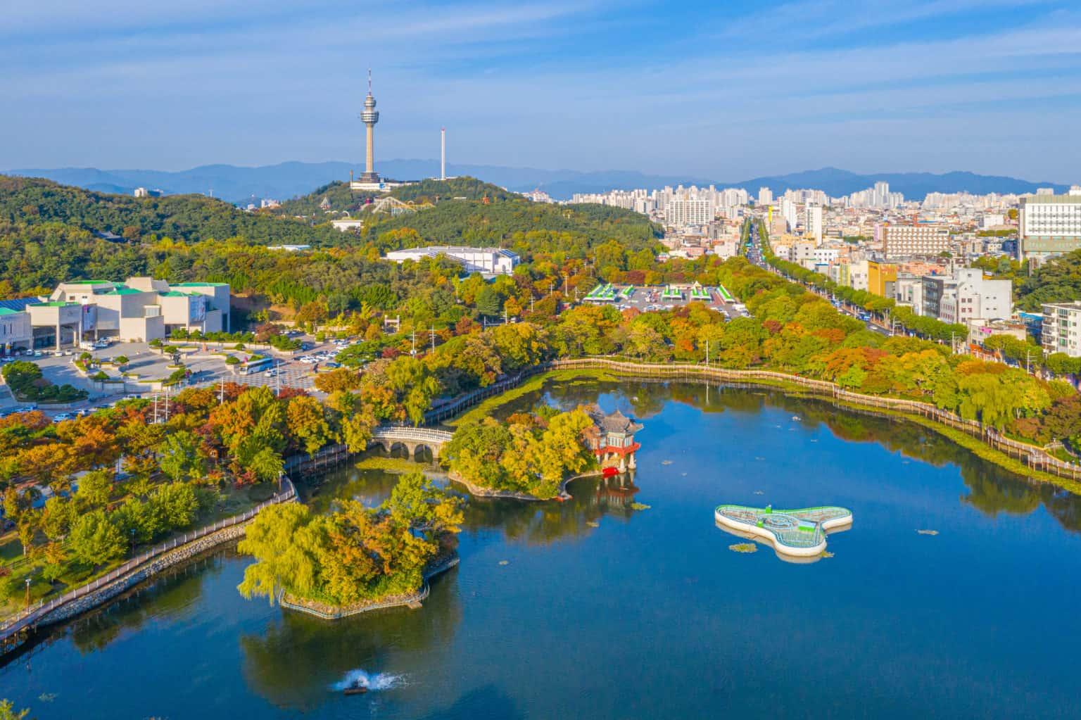 Walking Tour in Daegu
