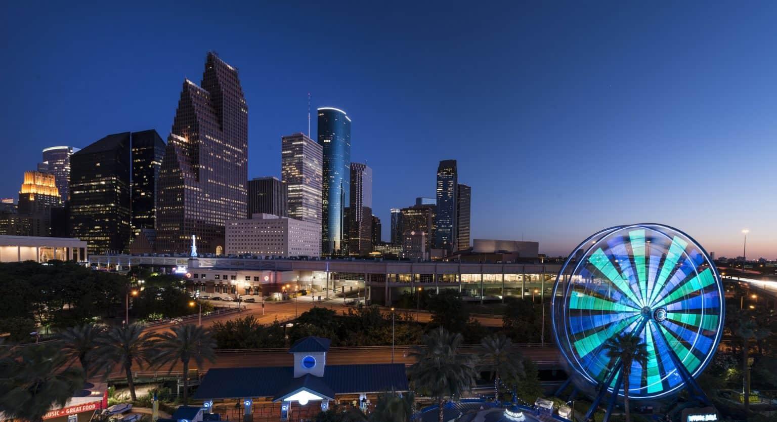 Walking tour in Houston