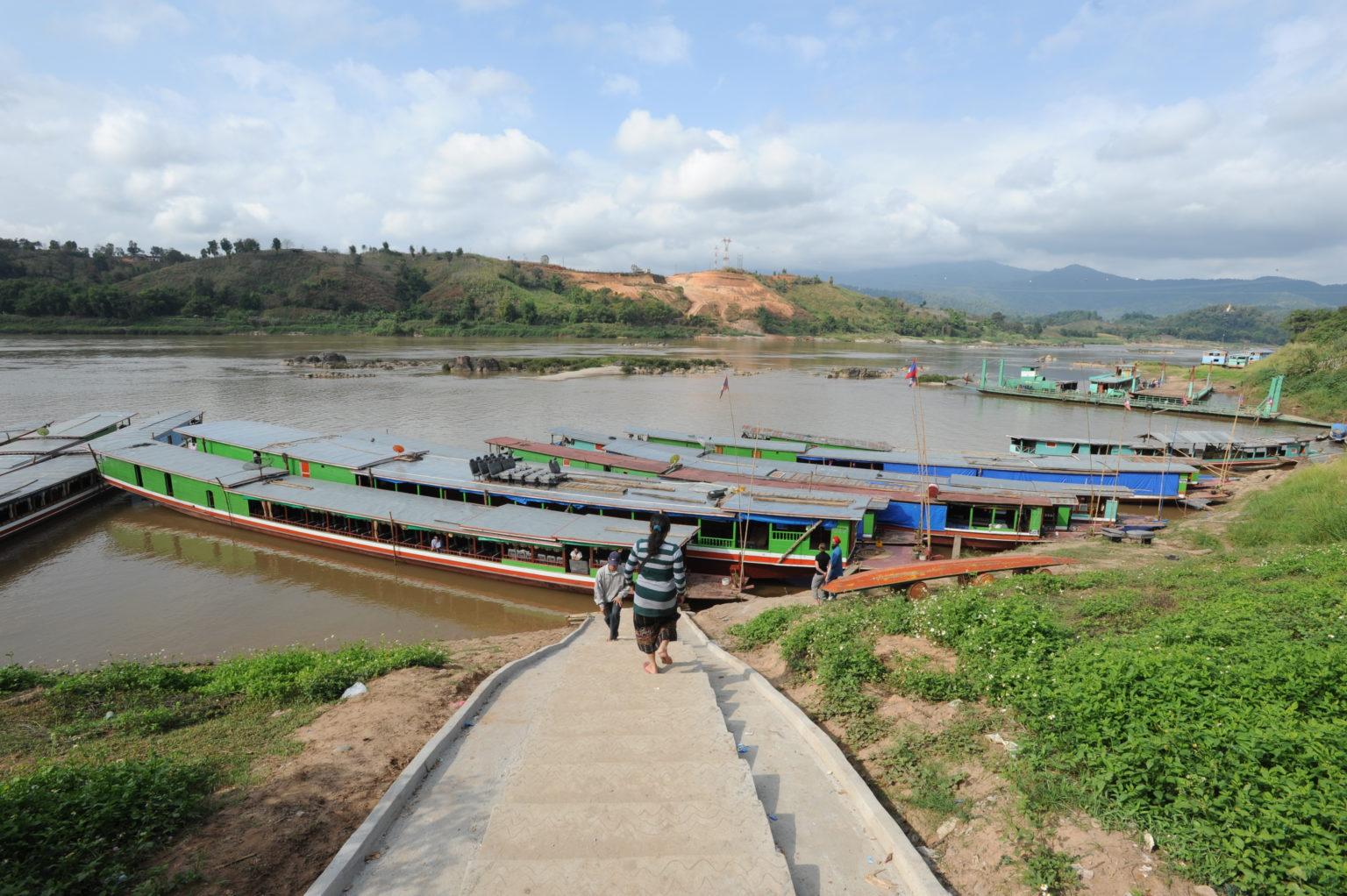Walking Tour in Huay Xai