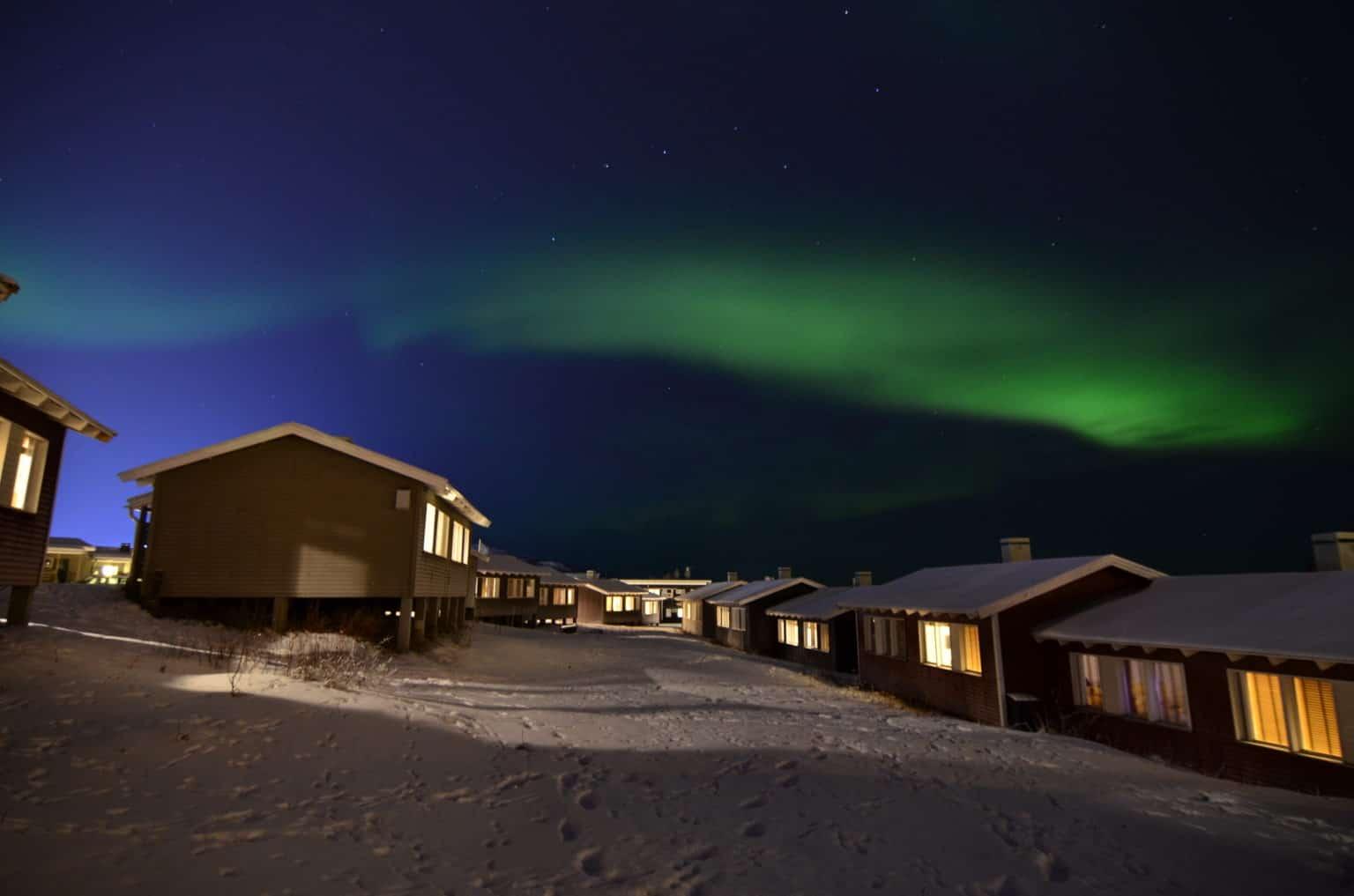 Walking tour in Kiruna