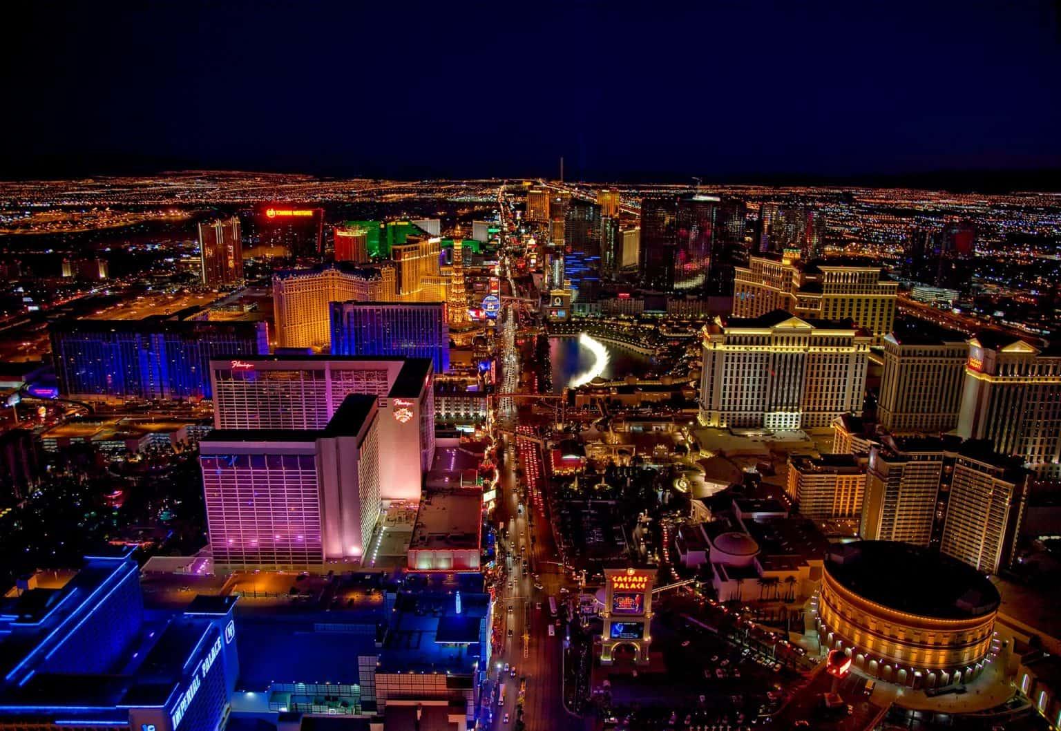 Walking tour in Las Vegas