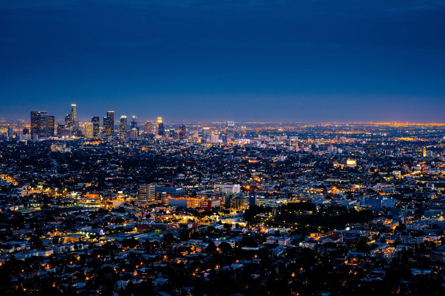 Walking tour in Los Angeles