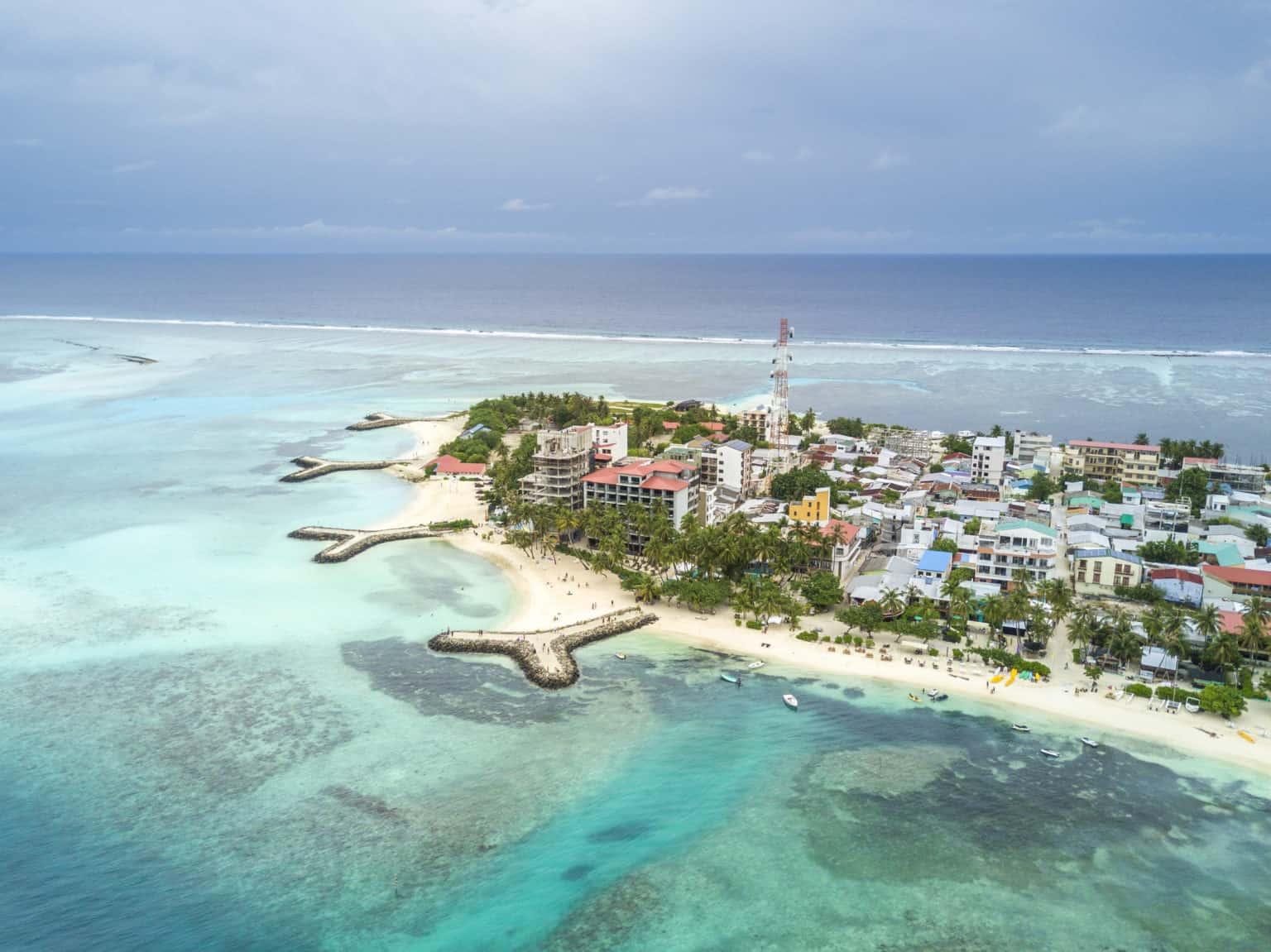 Walking Tour in Maafushi