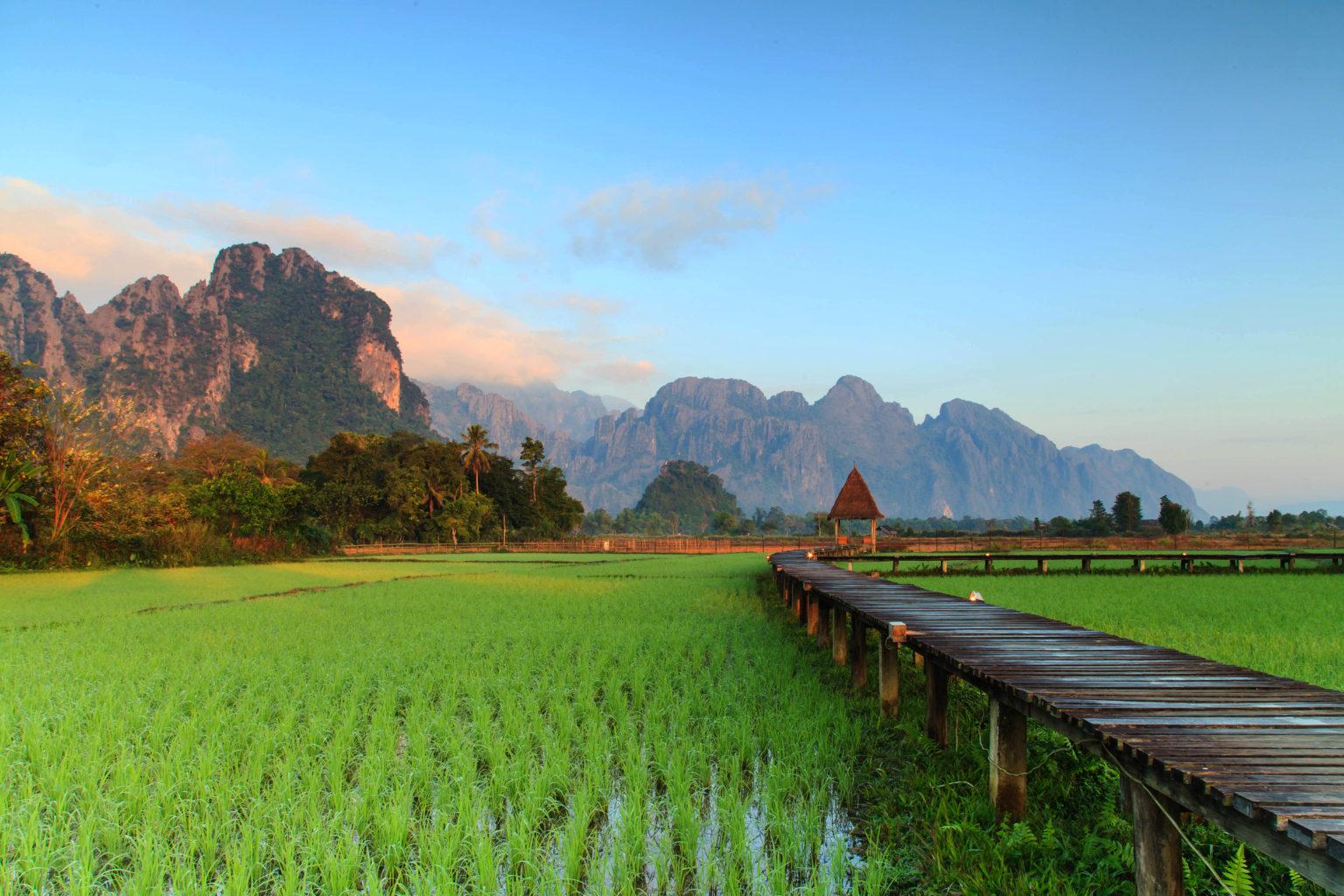 Walking Tour in Muang Xay