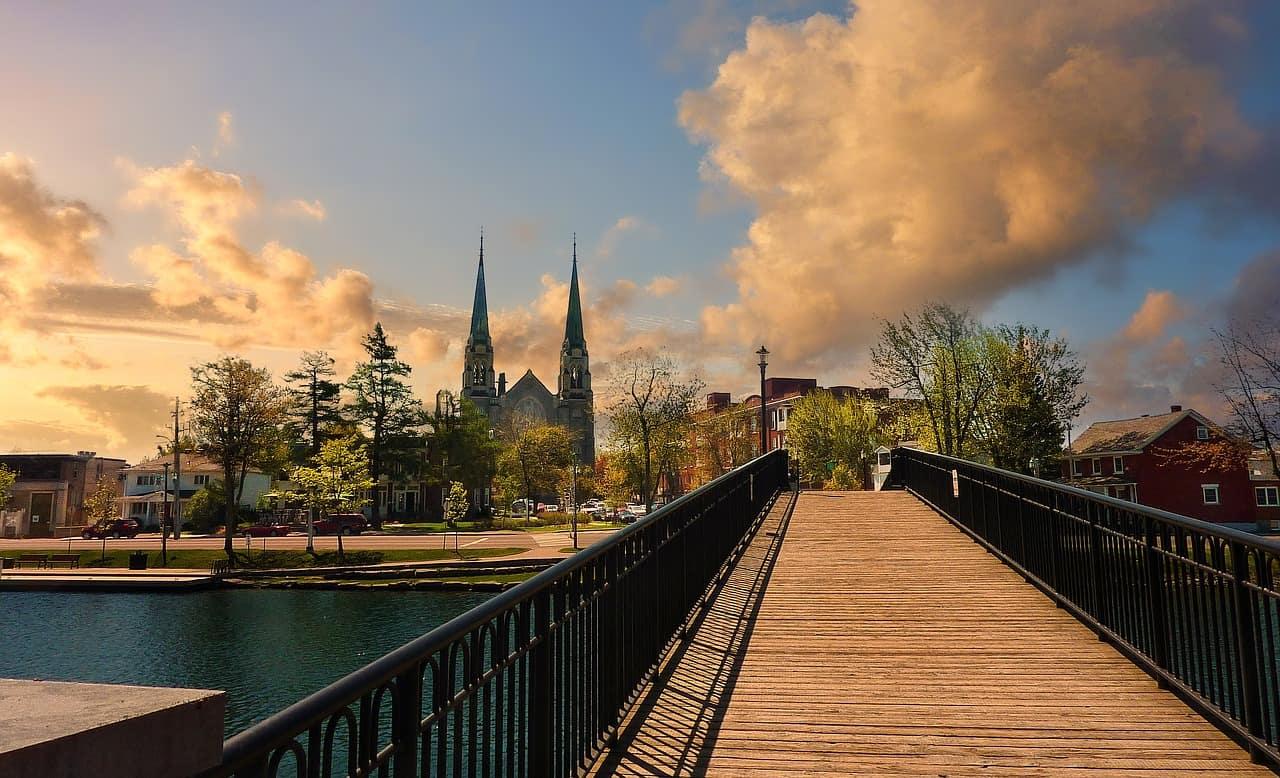 Walking tour in Ottawa