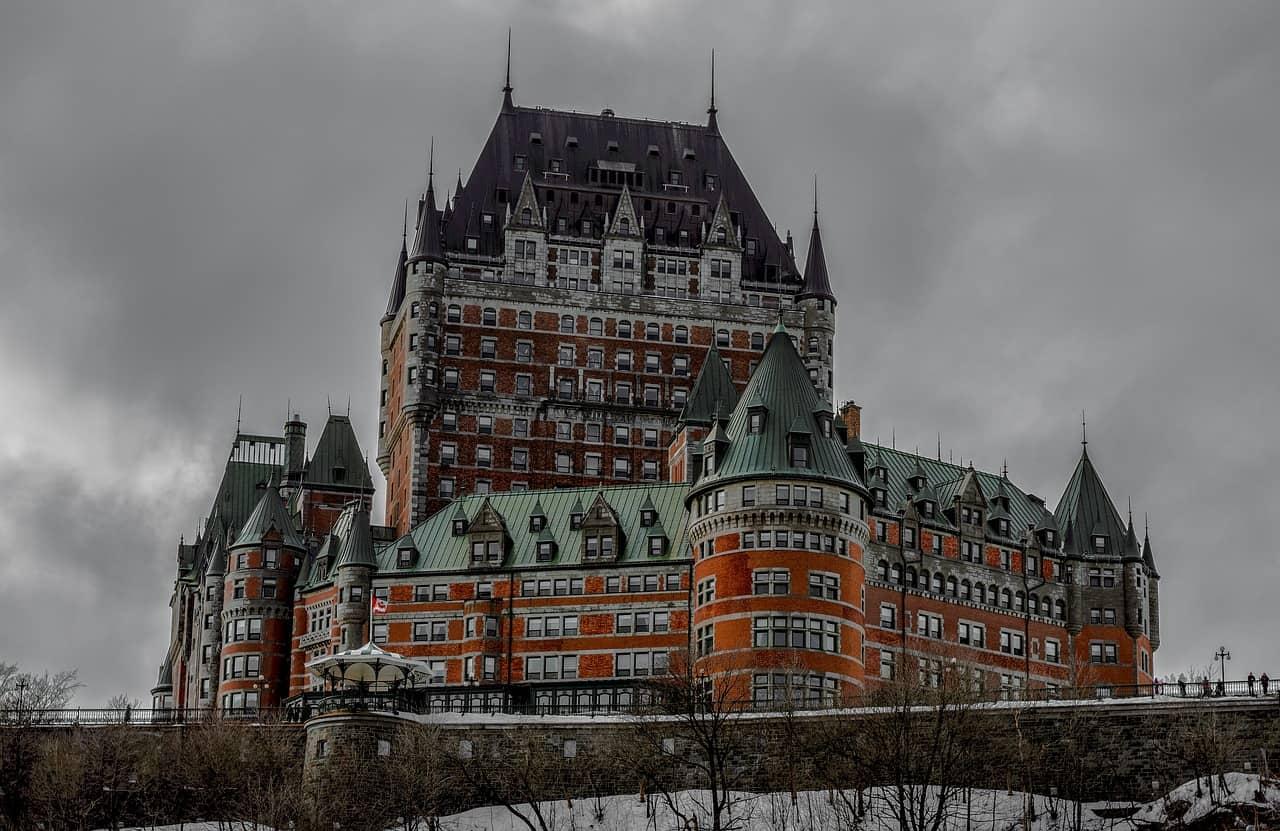 Walking tour in Quebec