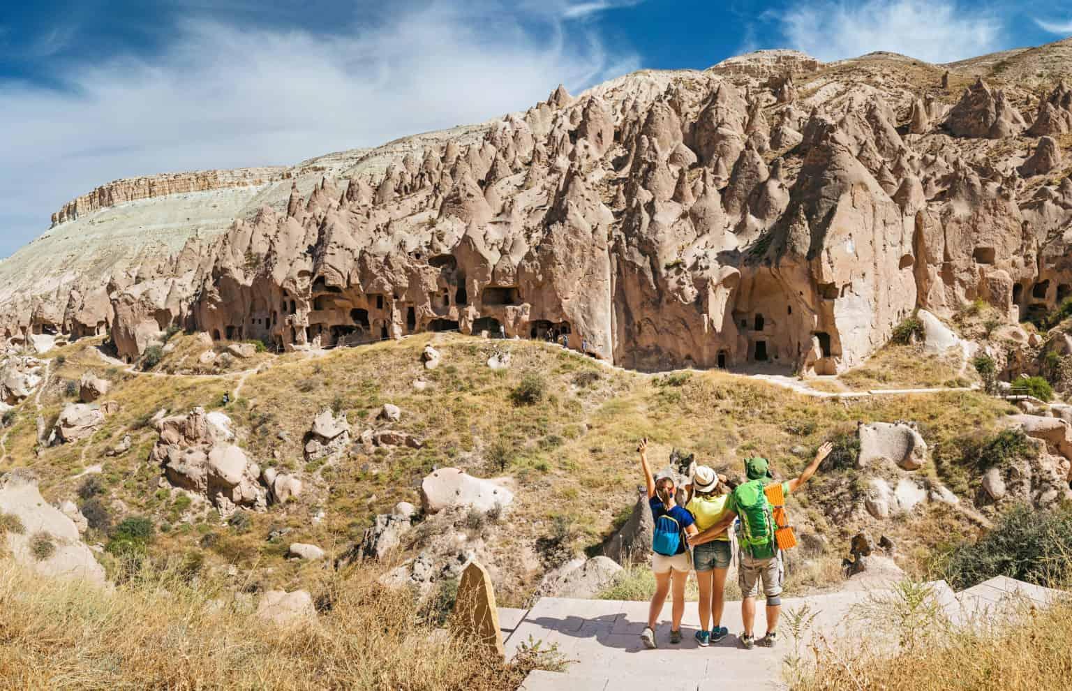 Walking tour in Ramon Crater