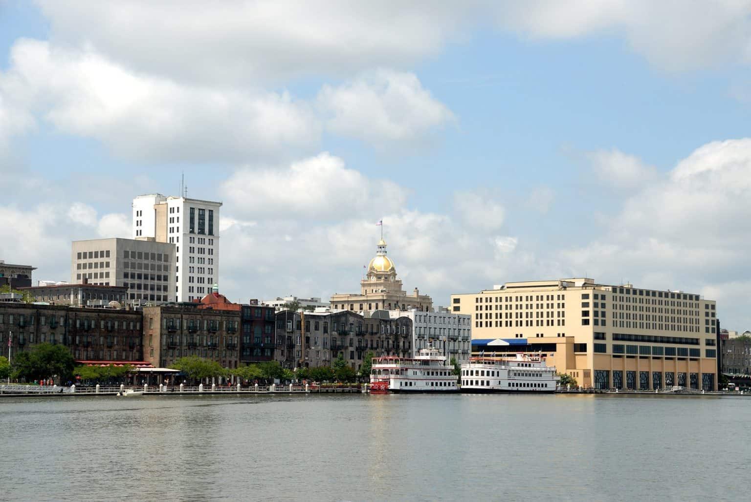 Walking tour in Savannah