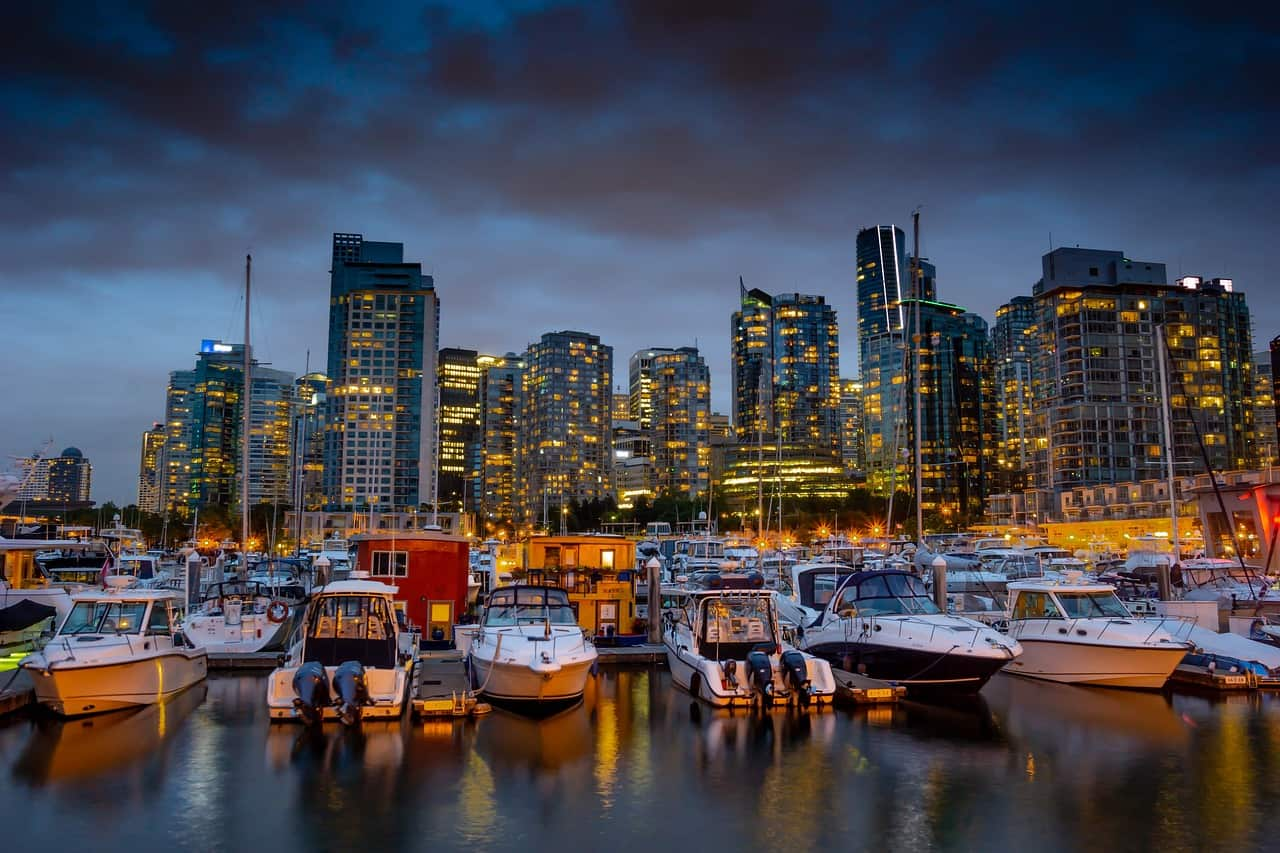 Walking tour in Vancouver