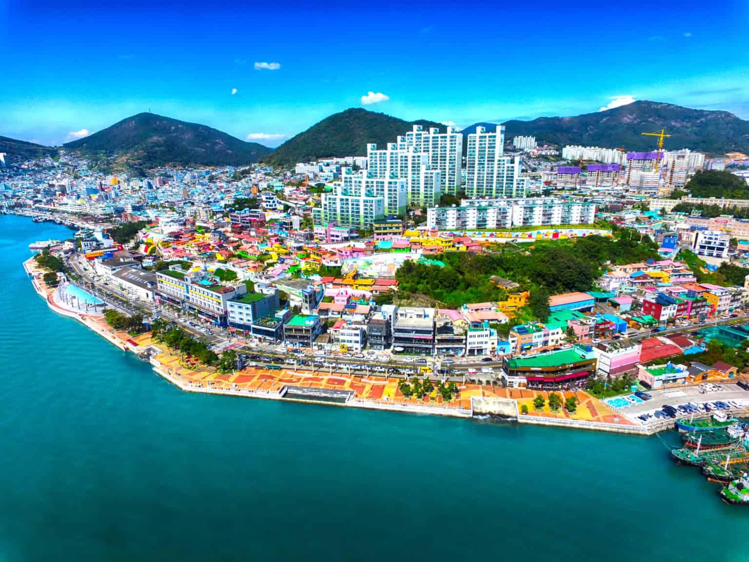 Walking Tour in Yeosu
